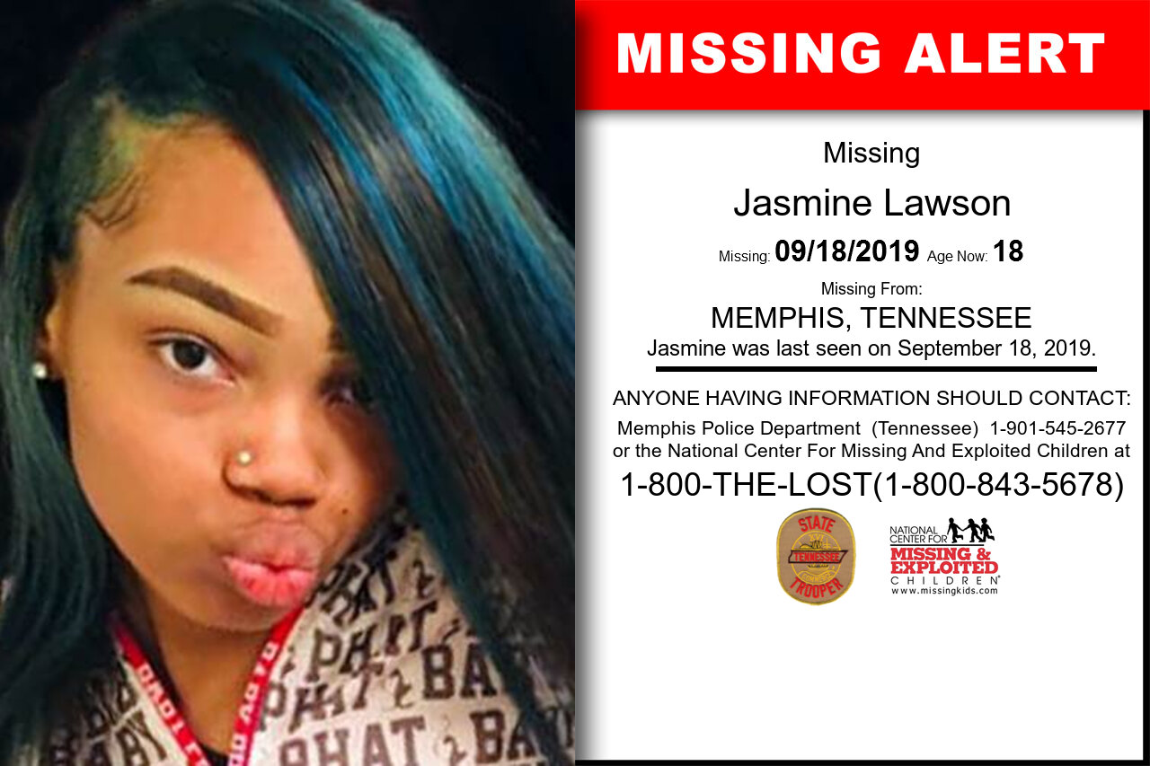 Jasmine_Lawson missing in Tennessee