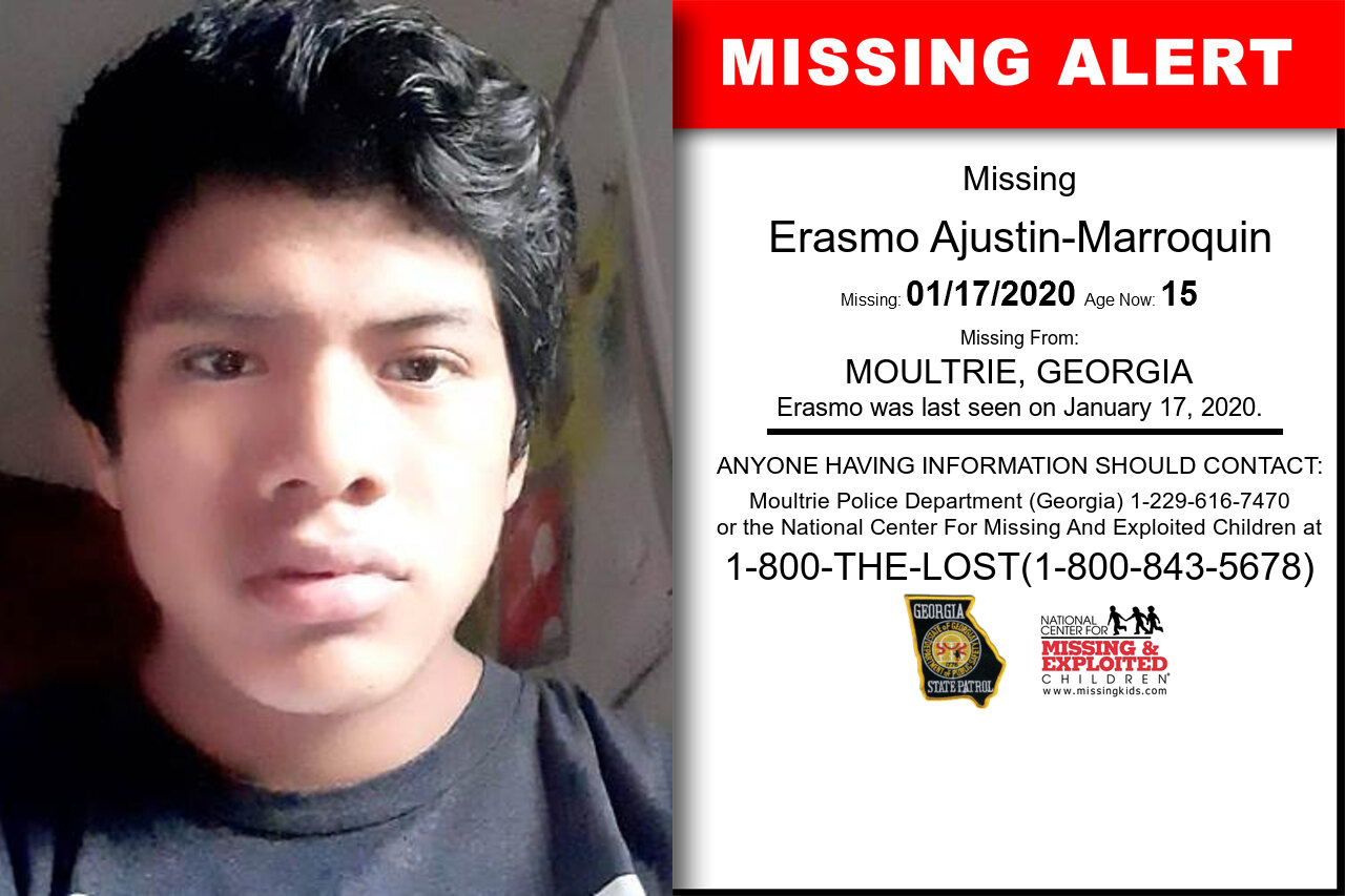 Erasmo_Ajustin-Marroquin missing in Georgia