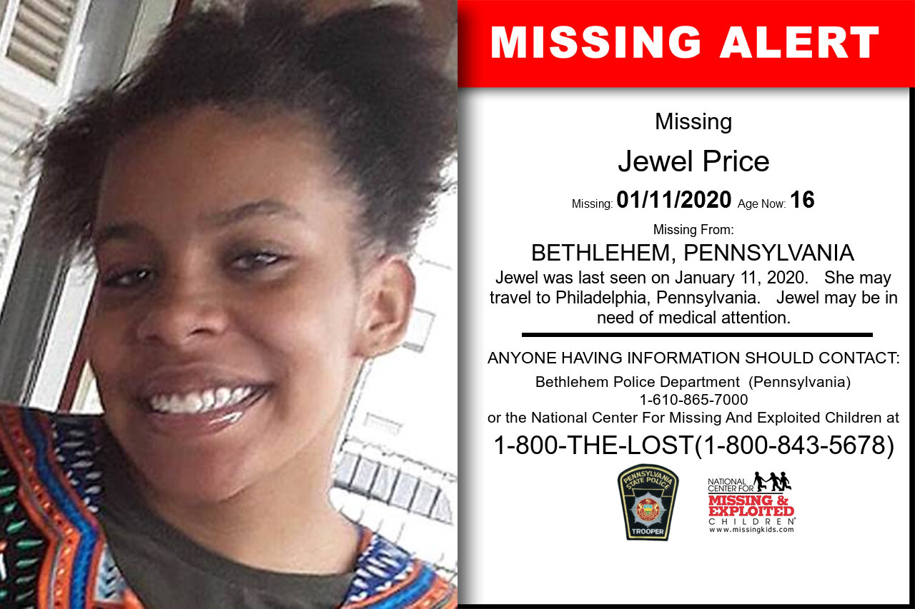 Jewel_Price missing in Pennsylvania