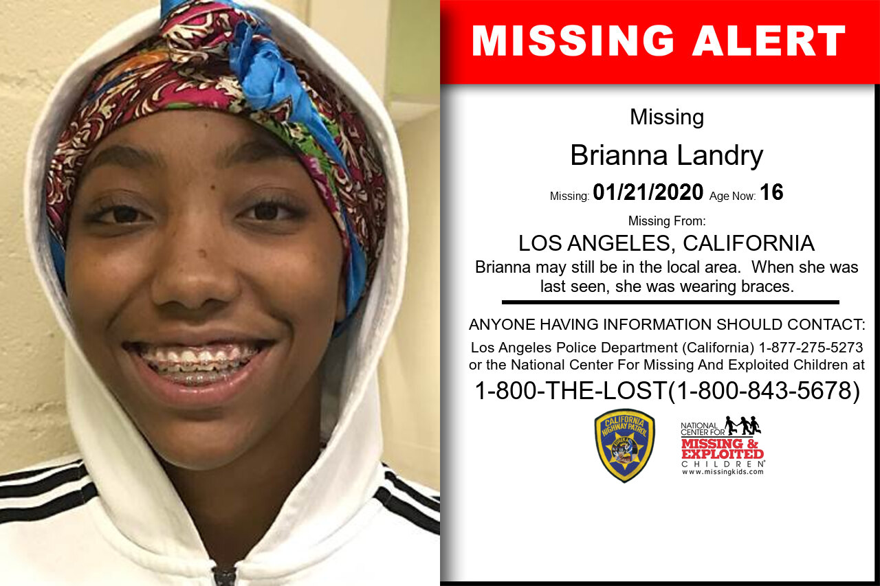 BRIANNA_LANDRY missing in California