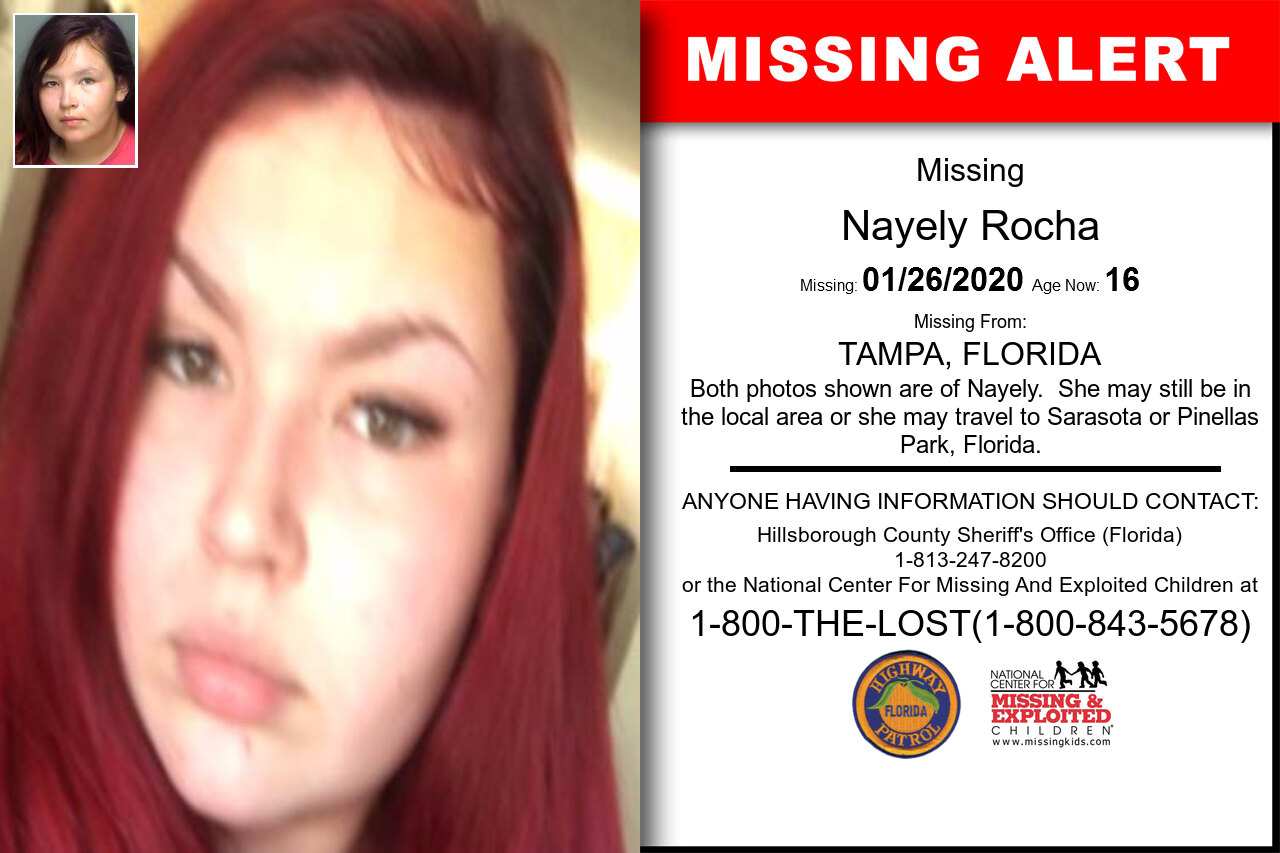 NAYELY_ROCHA missing in Florida