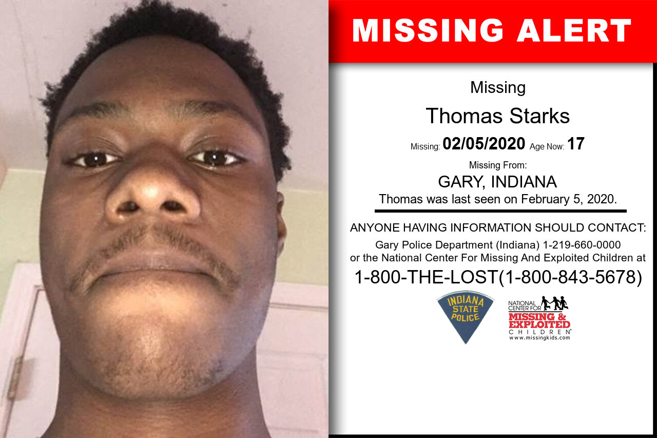 Thomas_Starks missing in Indiana