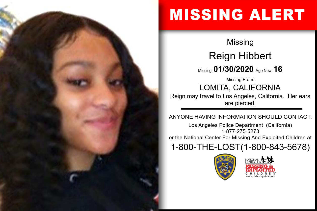 REIGN_HIBBERT missing in California