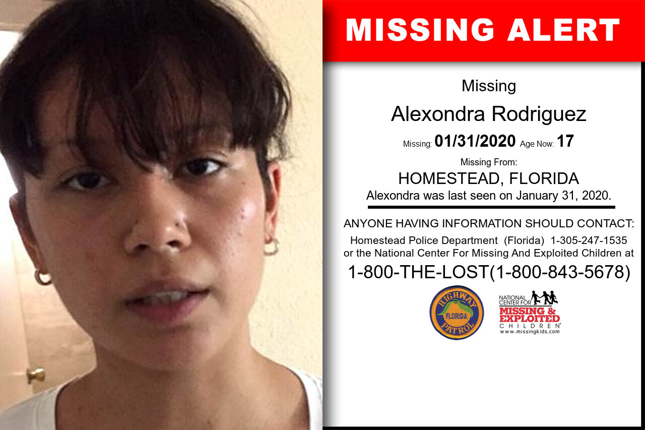 ALEXONDRA_RODRIGUEZ missing in Florida