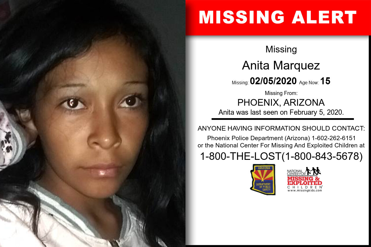 Anita_Marquez missing in Arizona