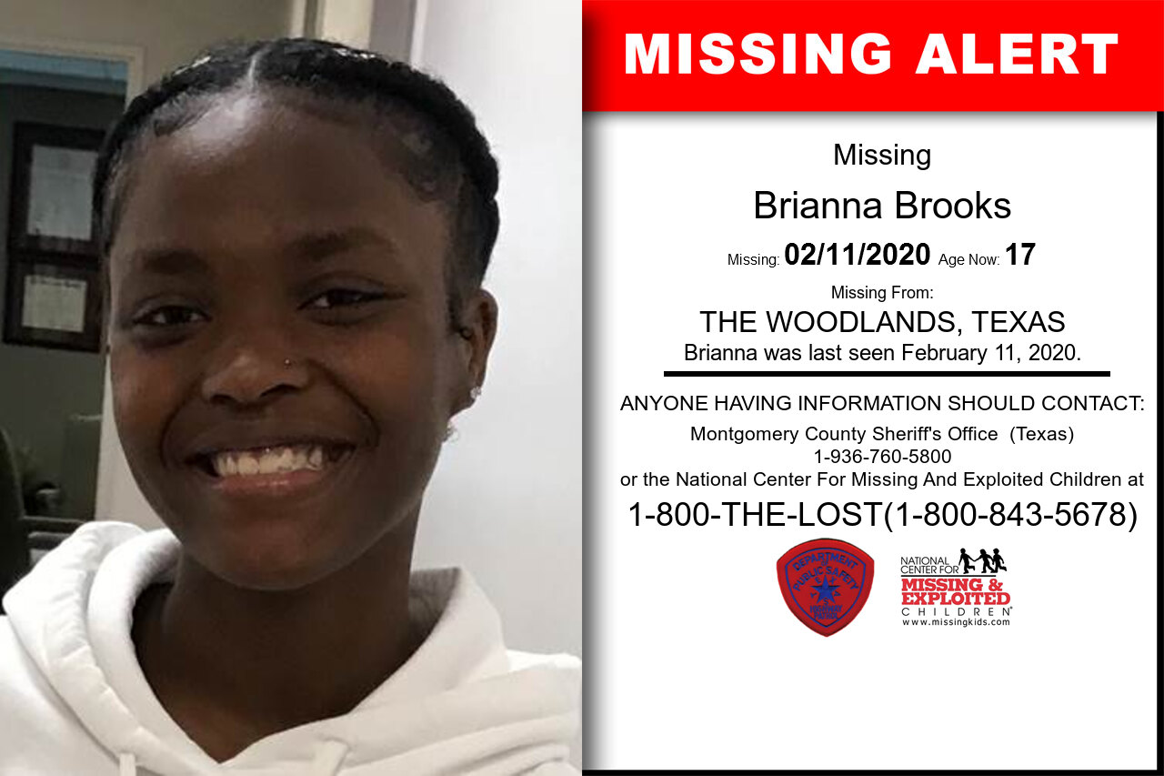 Brianna_Brooks missing in Texas