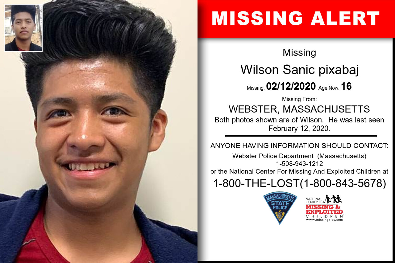 Wilson_Sanic_pixabaj missing in Massachusetts