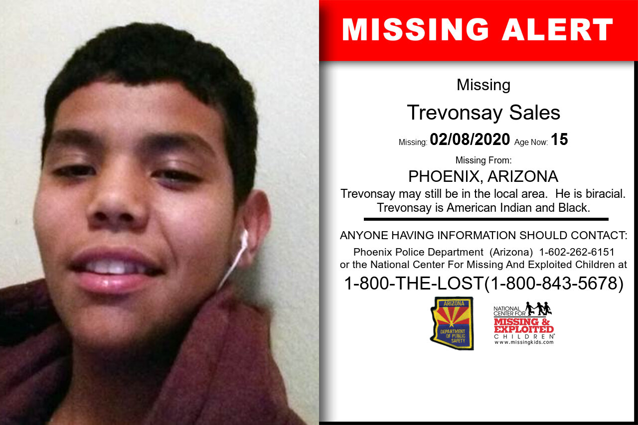 Trevonsay_Sales missing in Arizona