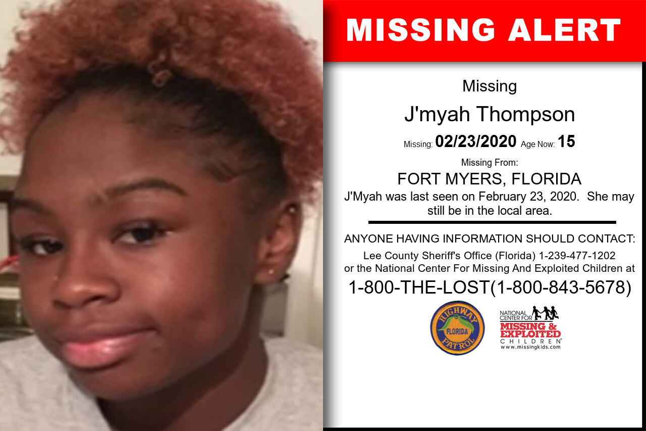 J'myah_Thompson missing in Florida