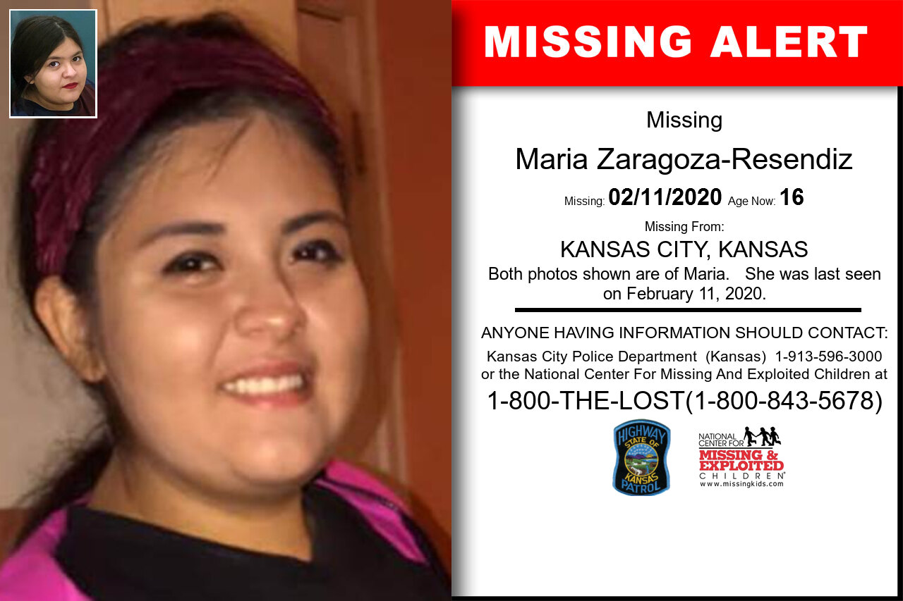 Maria_Zaragoza-Resendiz missing in Kansas