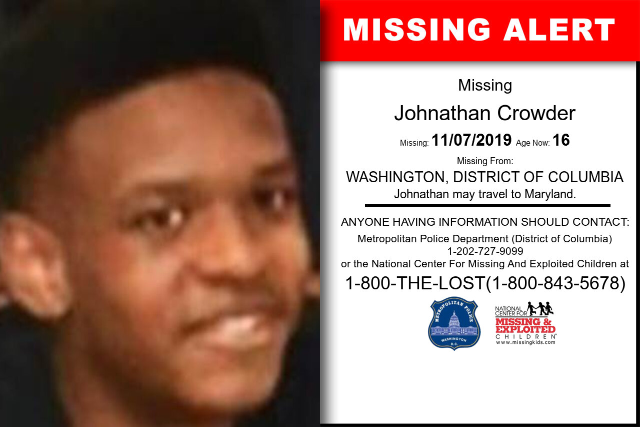 Johnathan_Crowder missing in District_of_Columbia