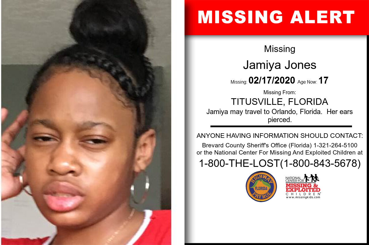 Jamiya_Jones missing in Florida