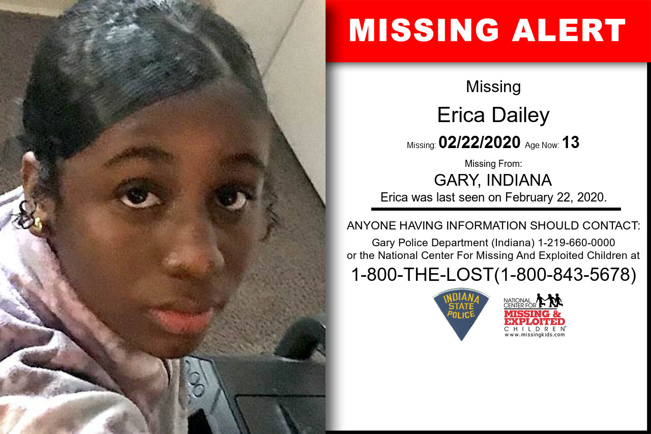 Erica_Dailey missing in Indiana