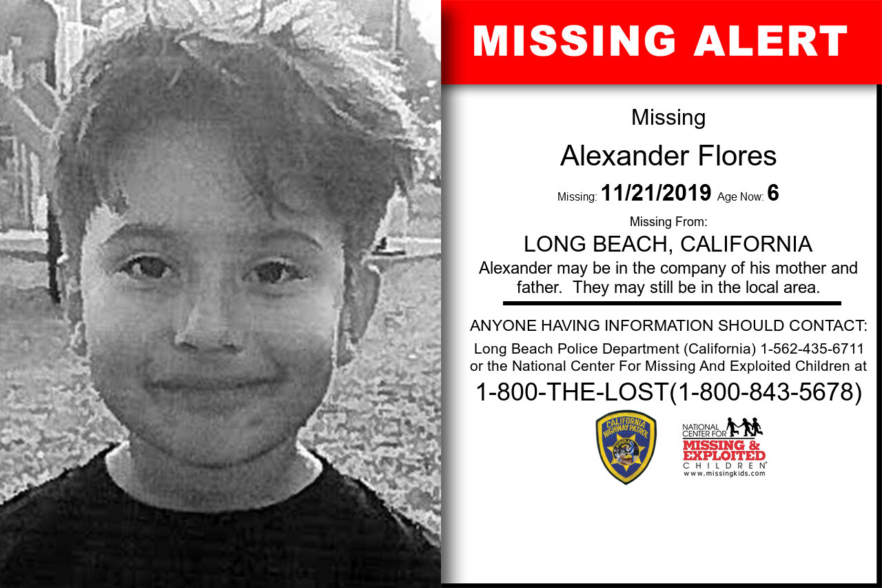 Alexander_Flores missing in California