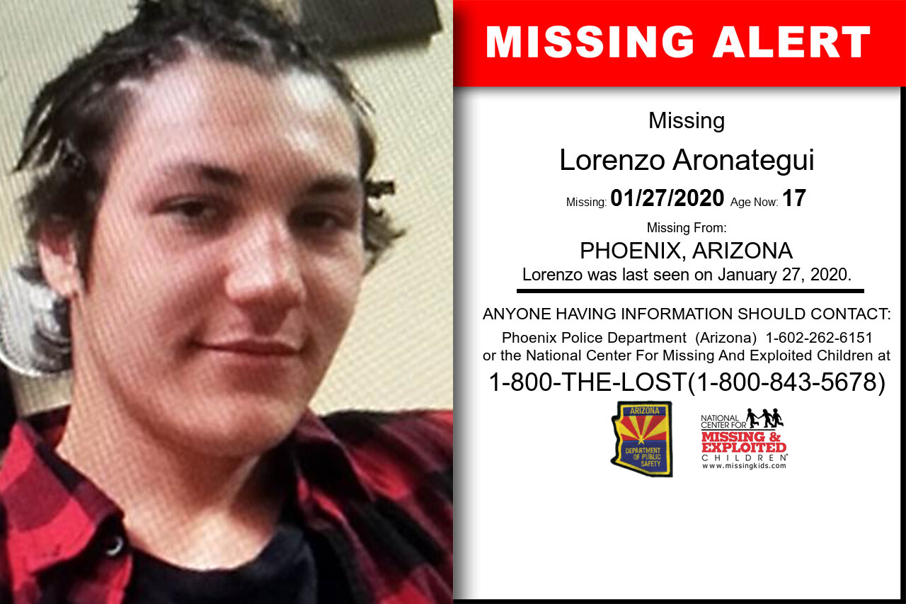Lorenzo_Aronategui missing in Arizona