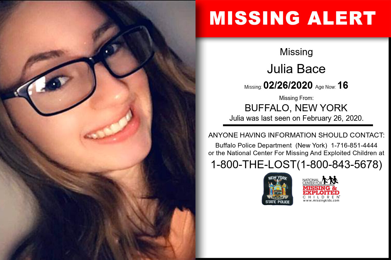 Julia_Bace missing in New_York