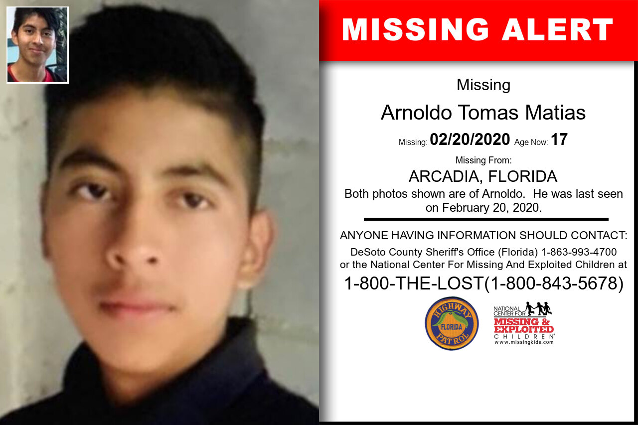 Arnoldo_Tomas_Matias missing in Florida