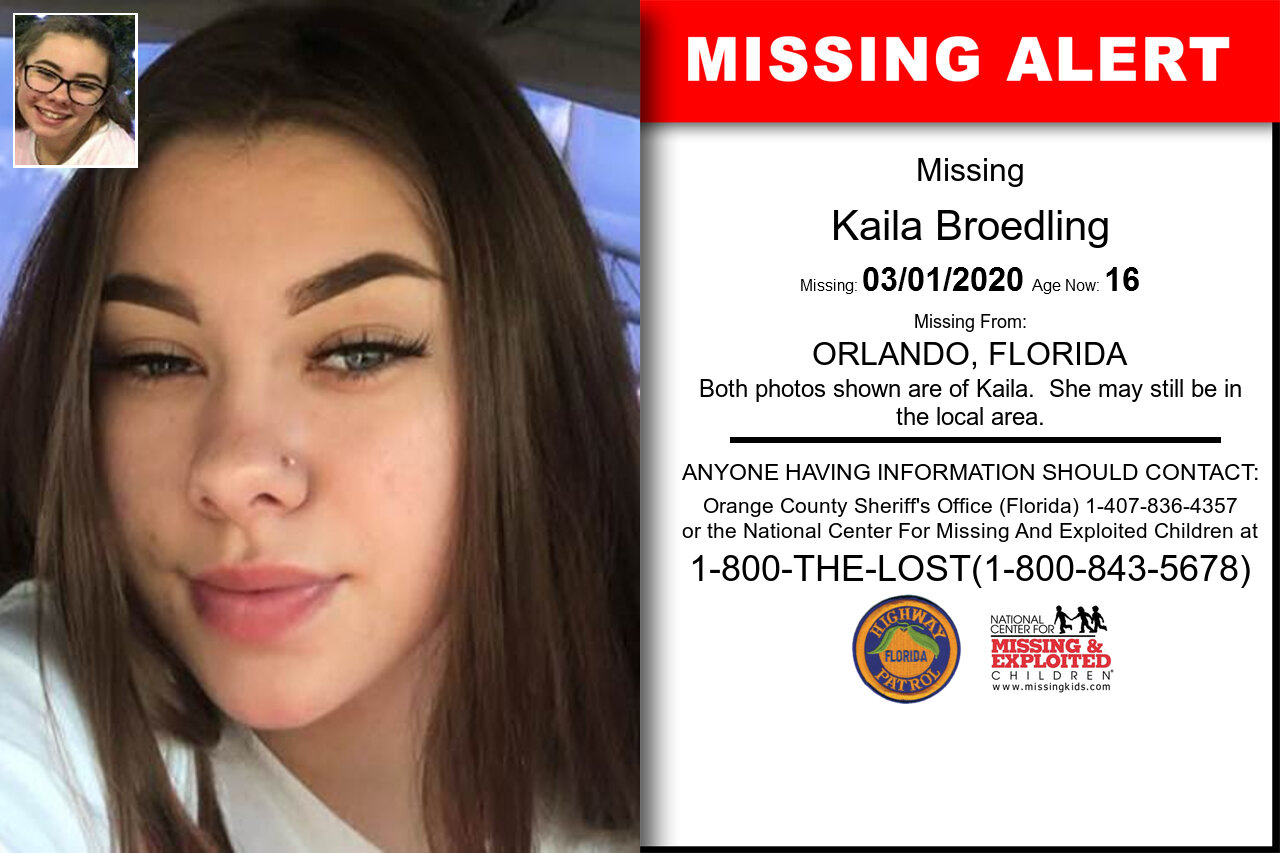 Kaila_Broedling missing in Florida