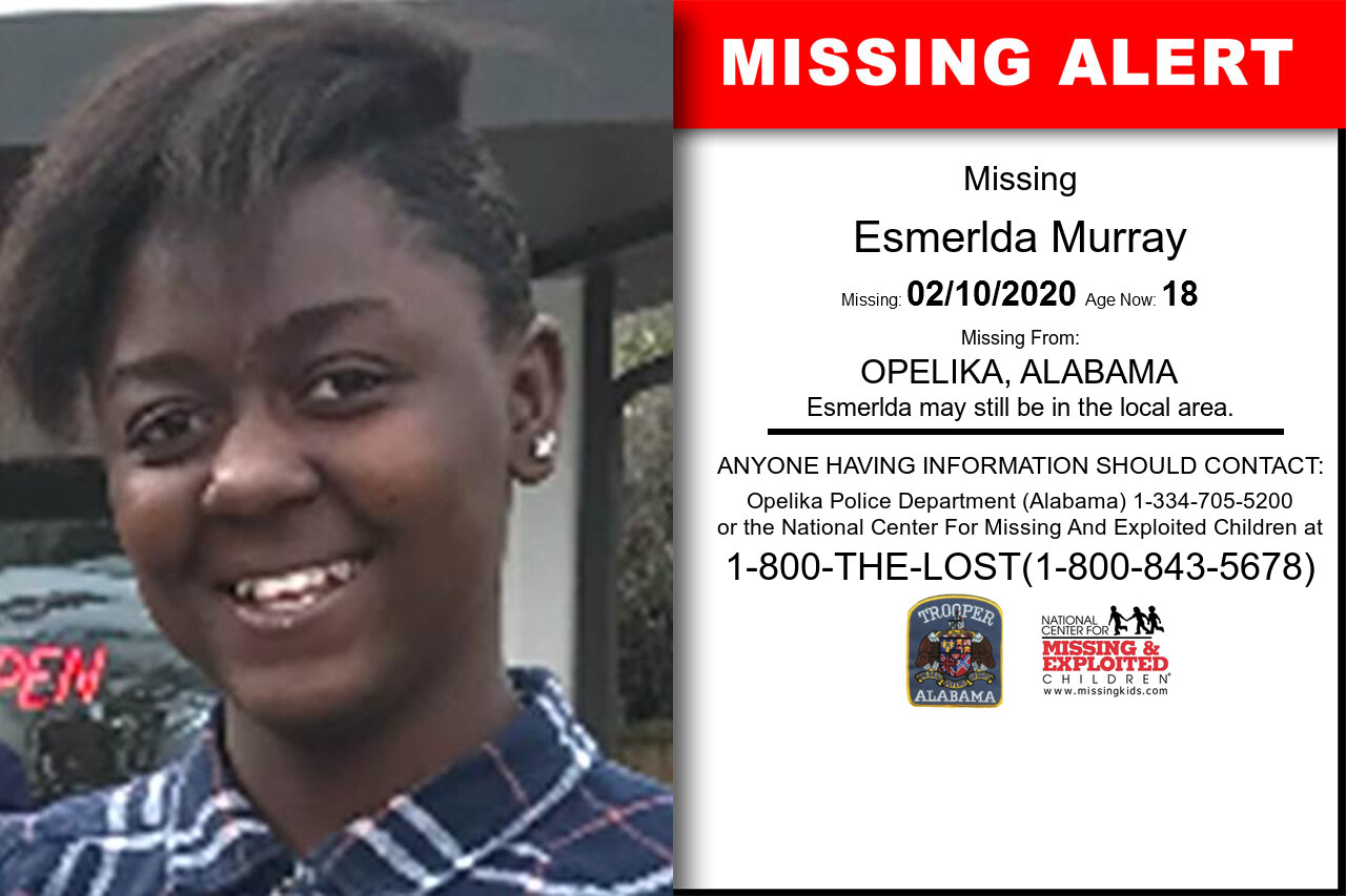 Esmerlda_Murray missing in Alabama