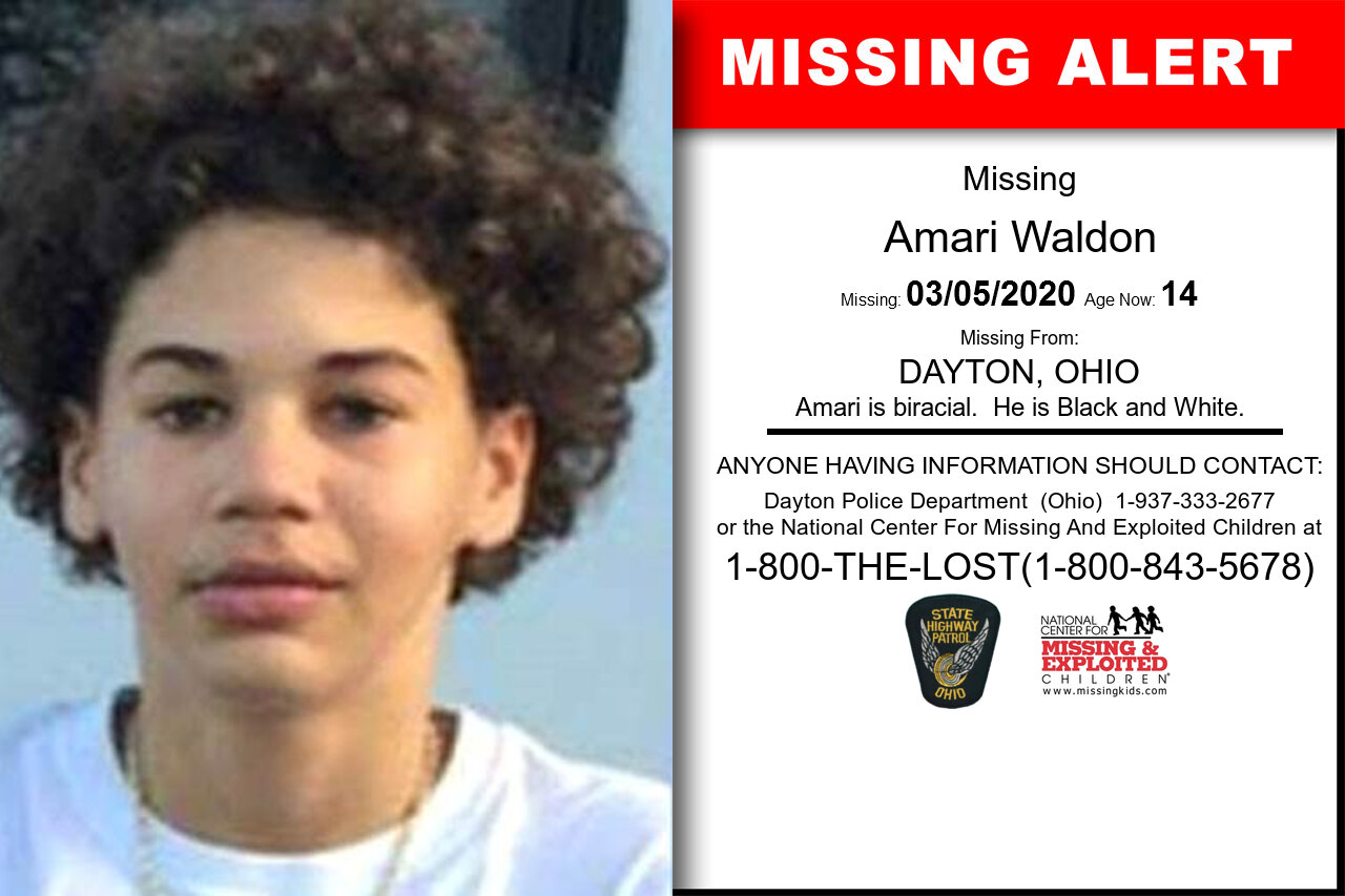 Amari_Waldon missing in Ohio