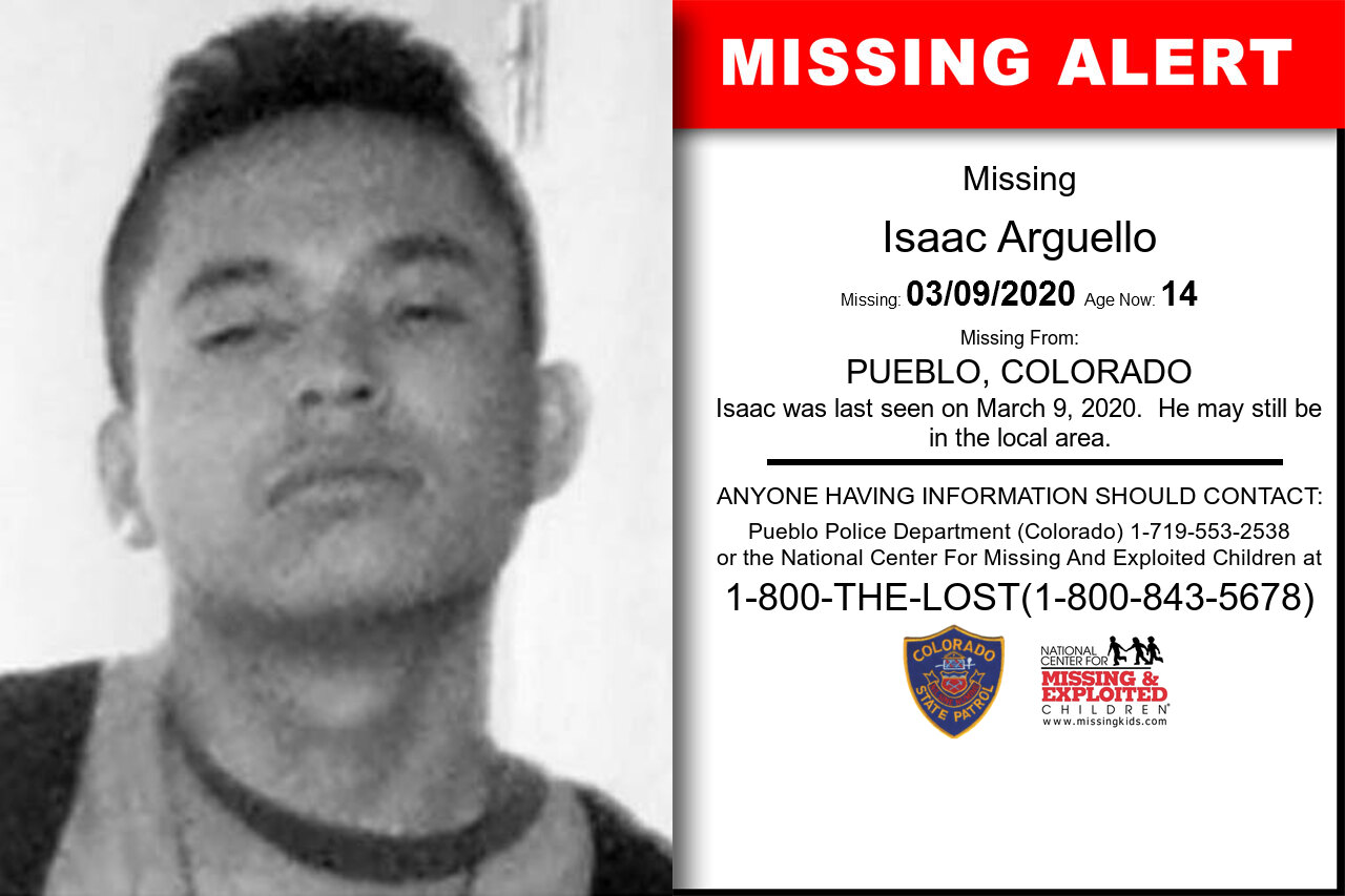 Isaac_Arguello missing in Colorado