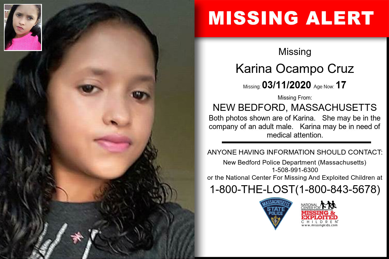 Karina_Ocampo_Cruz missing in Massachusetts