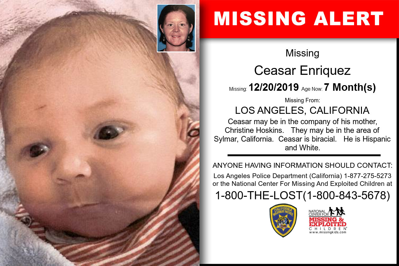 Ceasar_Enriquez missing in California