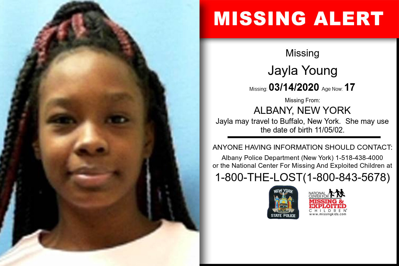 Jayla_Young missing in New_York
