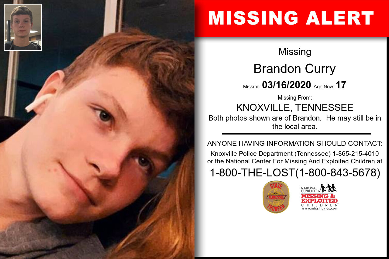 Brandon_Curry missing in Tennessee