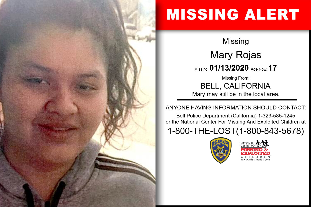 Mary_Rojas missing in California