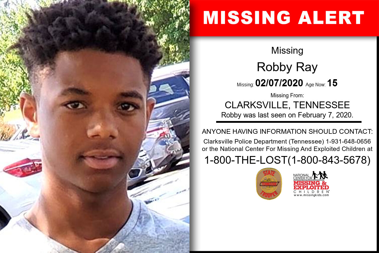 Robby_Ray missing in Tennessee