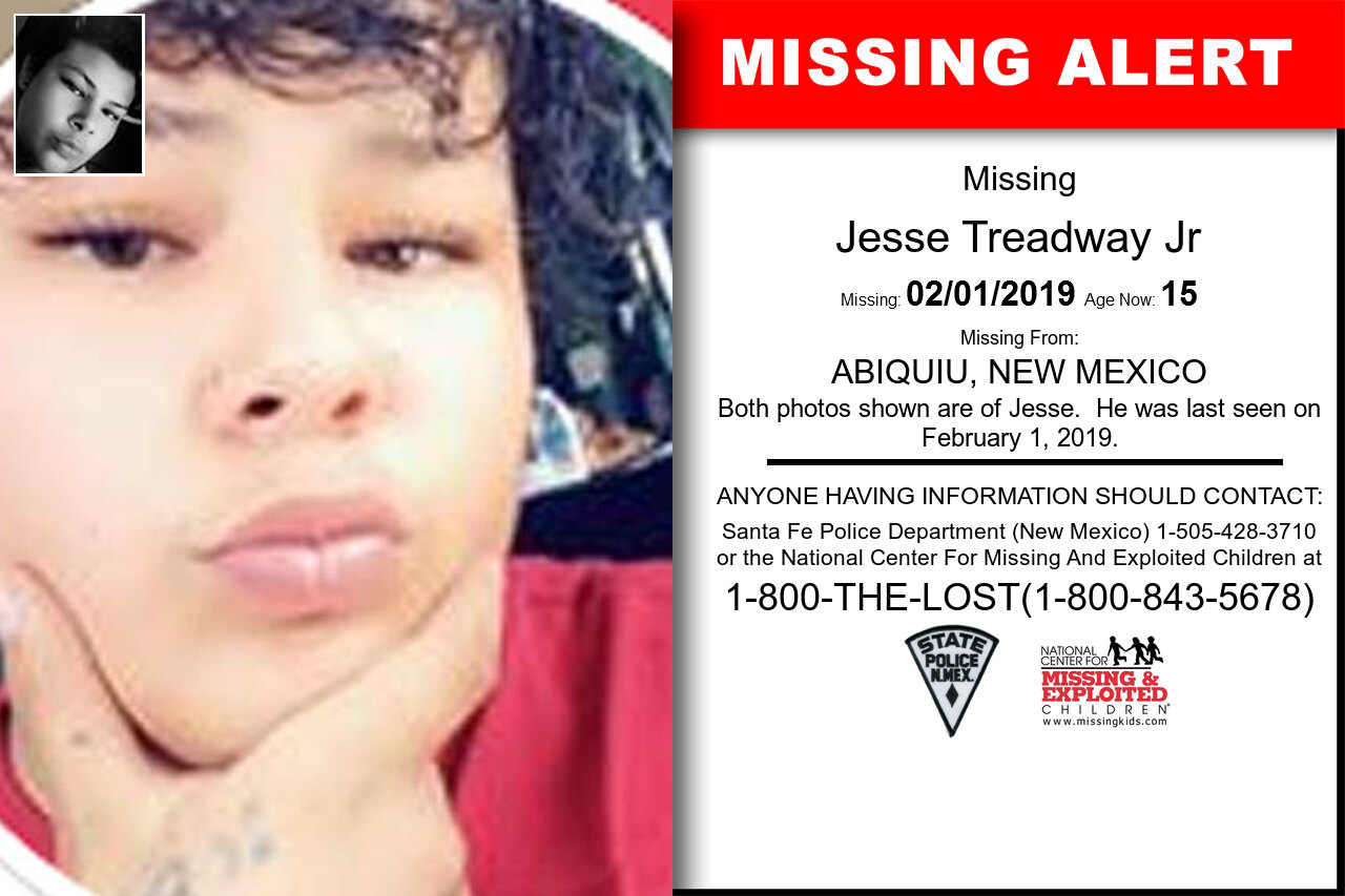 Jesse_Treadway_Jr missing in New_Mexico