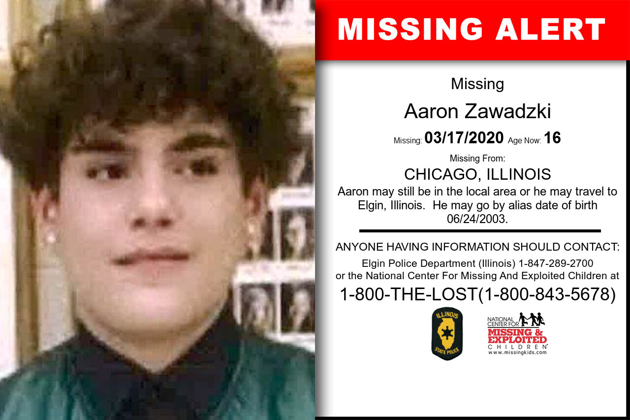 Aaron_Zawadzki missing in Illinois