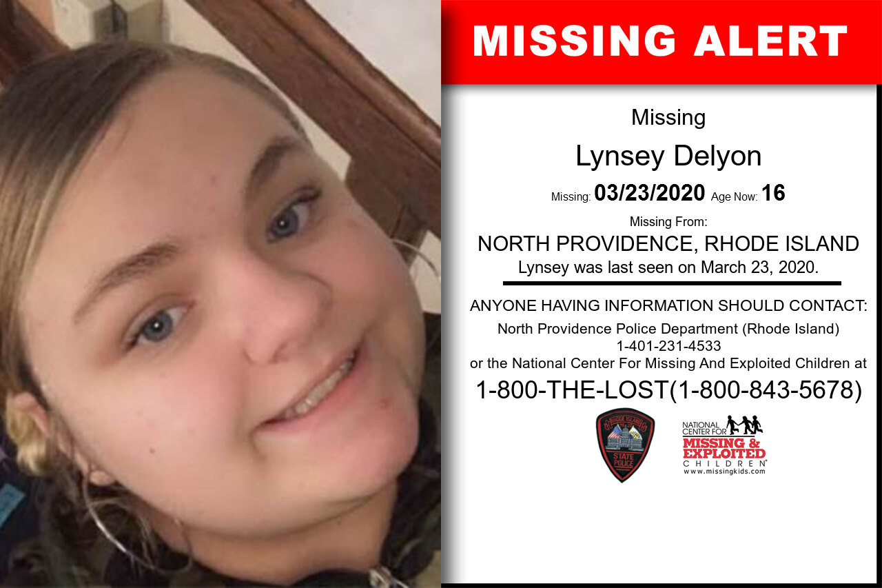 Lynsey_Delyon missing in Rhode_Island