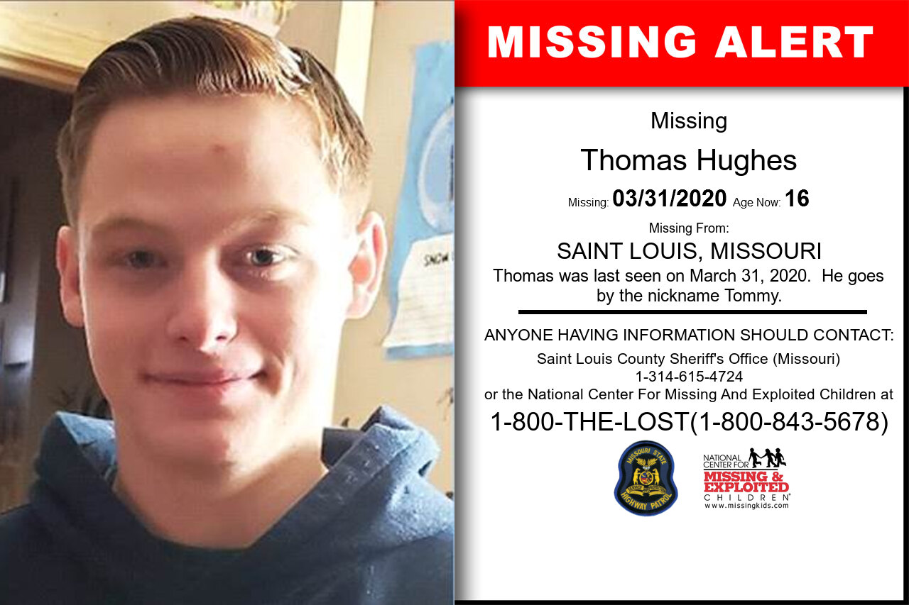 Thomas_Hughes missing in Missouri