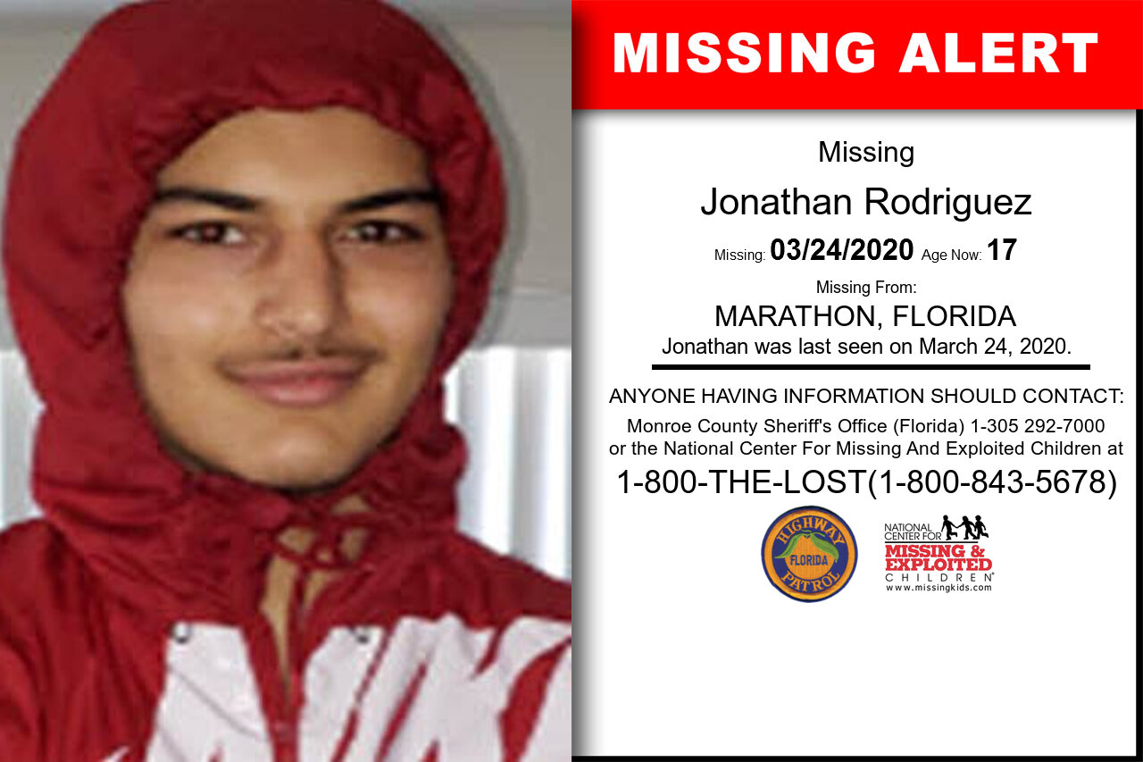 Jonathan_Rodriguez missing in Florida