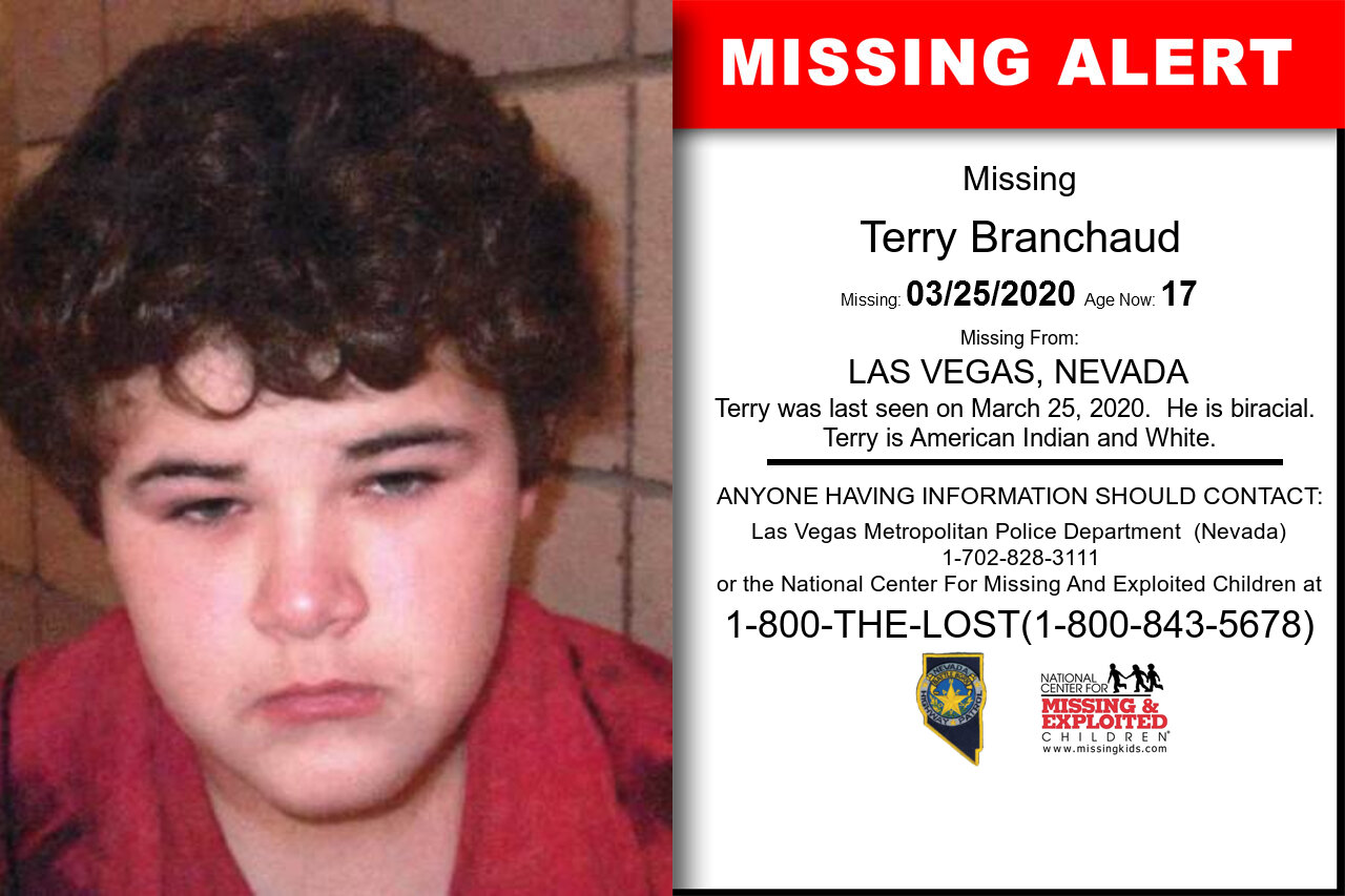 Terry_Branchaud missing in Nevada