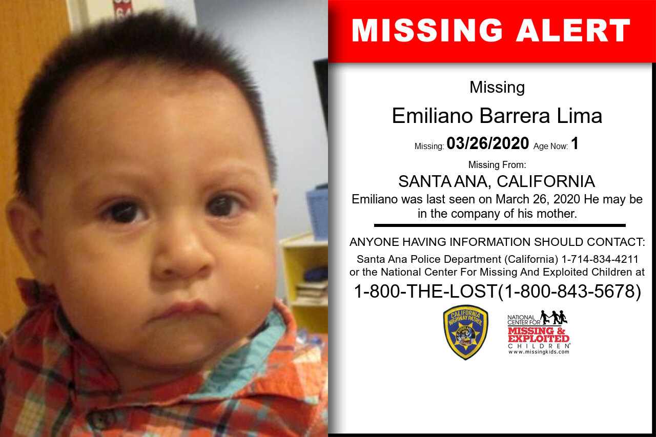 Emiliano_Barrera_Lima missing in California