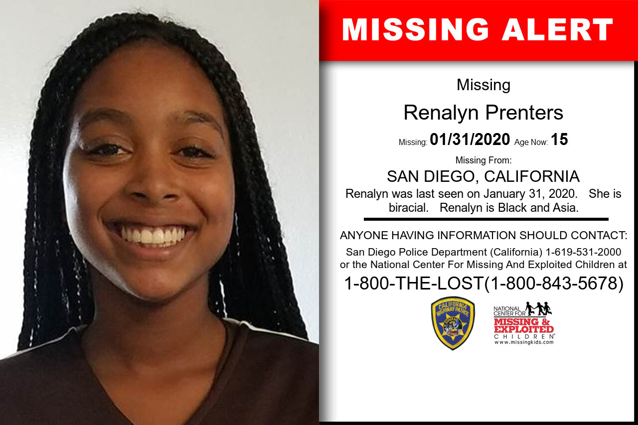 Renalyn_Prenters missing in California