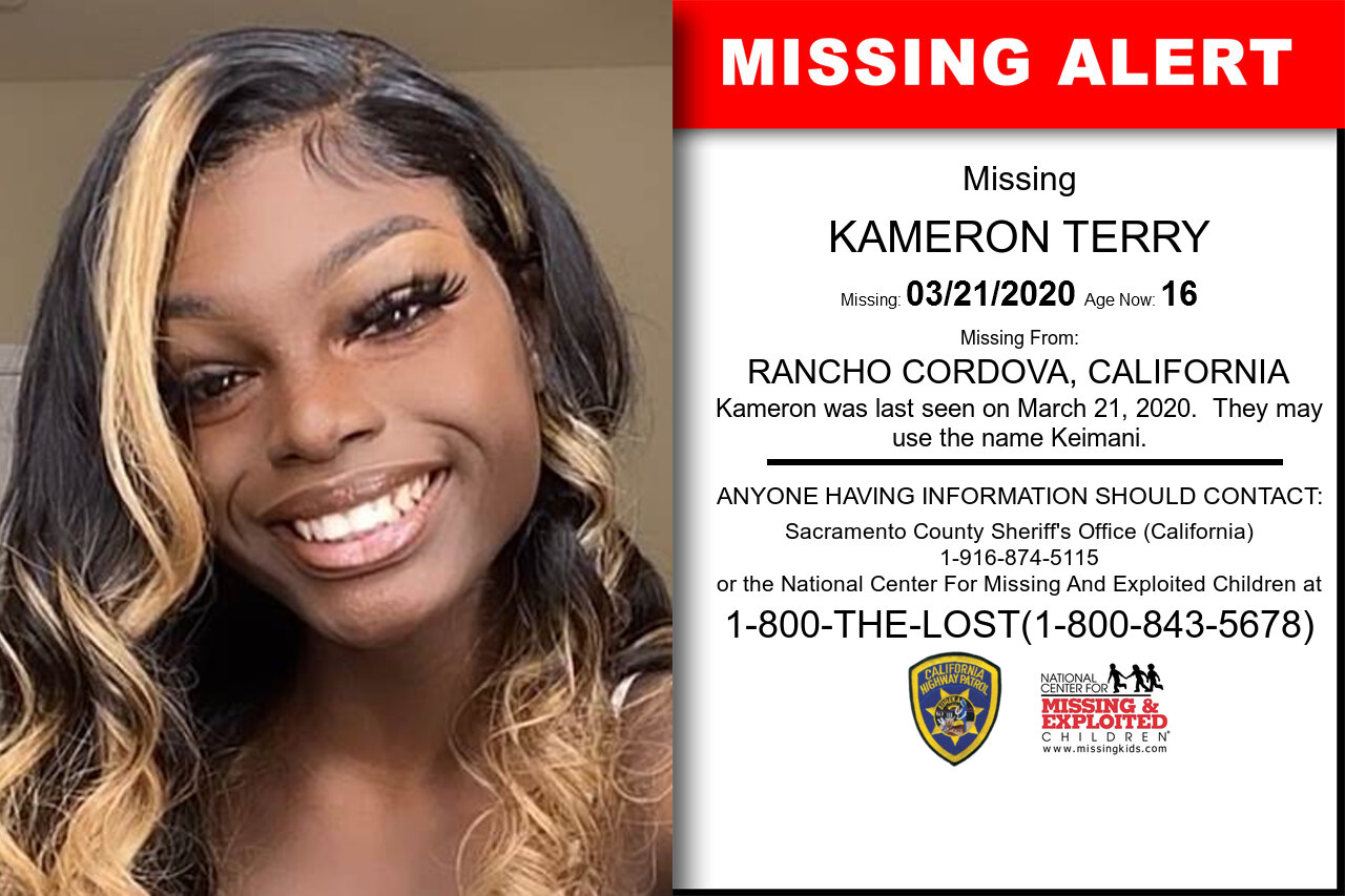 KAMERON_TERRY missing in California