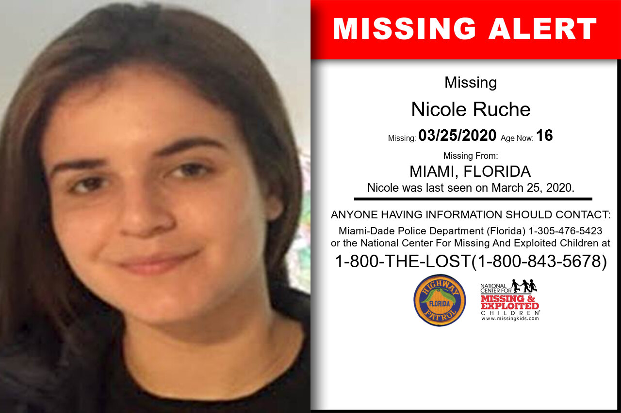 Nicole_Ruche missing in Florida