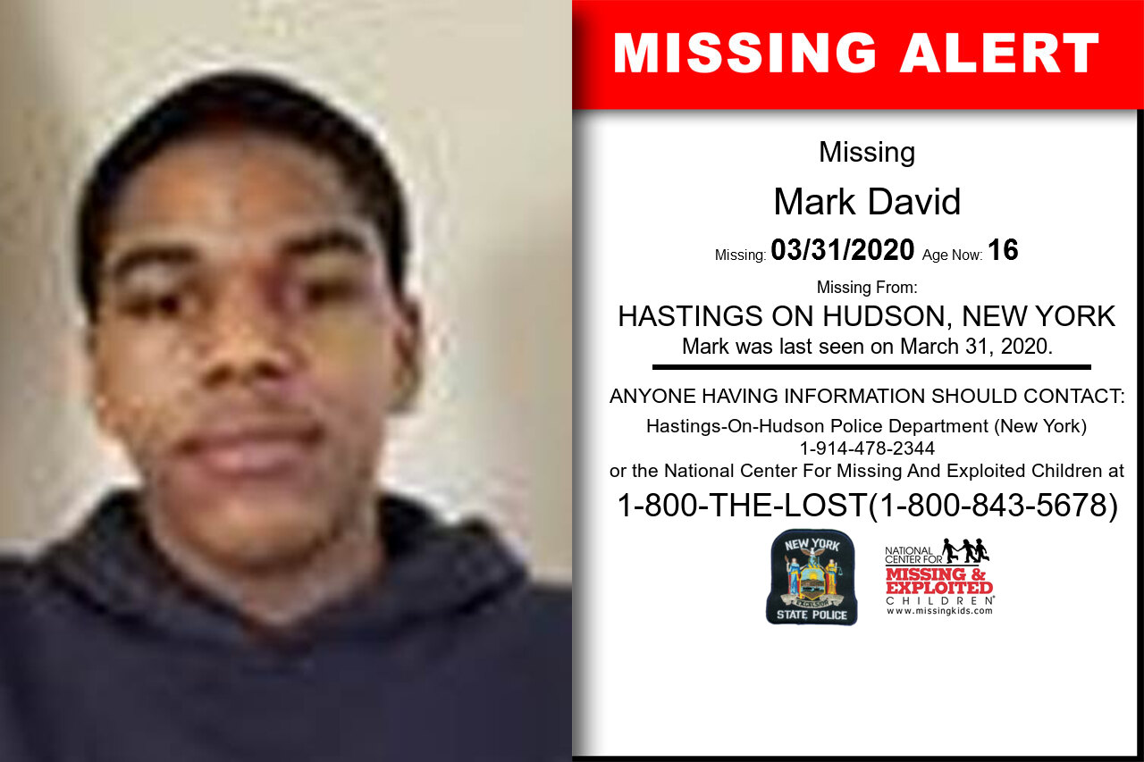 Mark_David missing in New_York