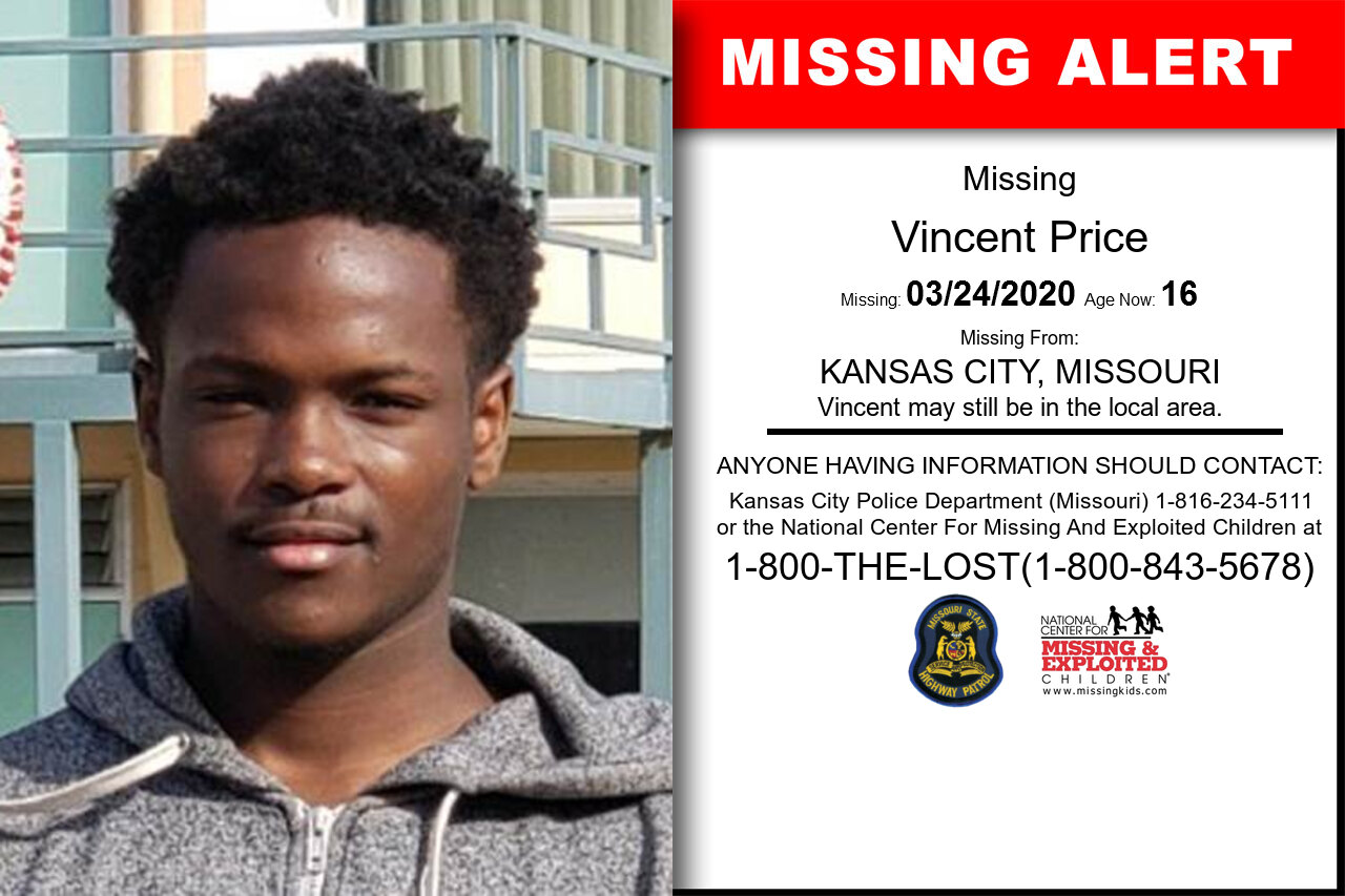 Vincent_Price missing in Missouri