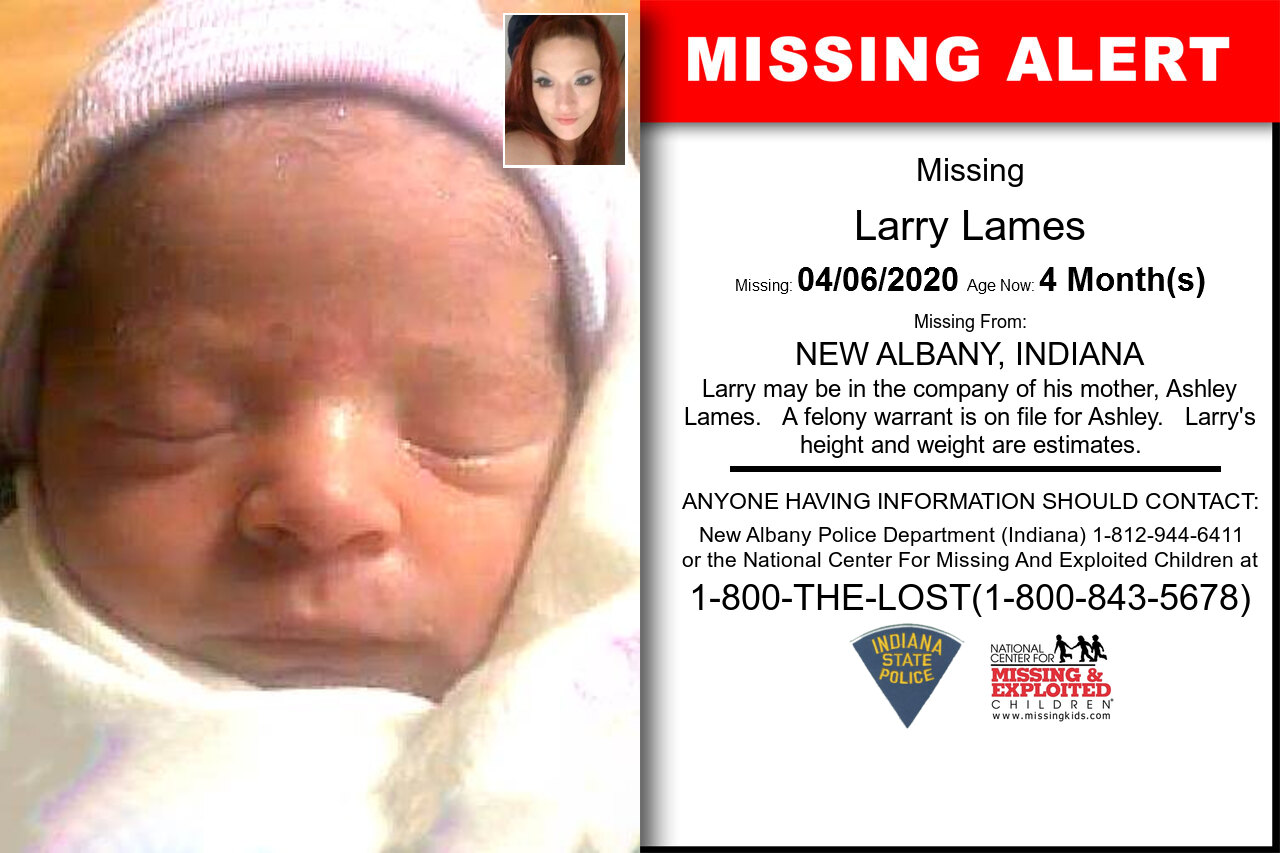 Larry_Lames missing in Indiana