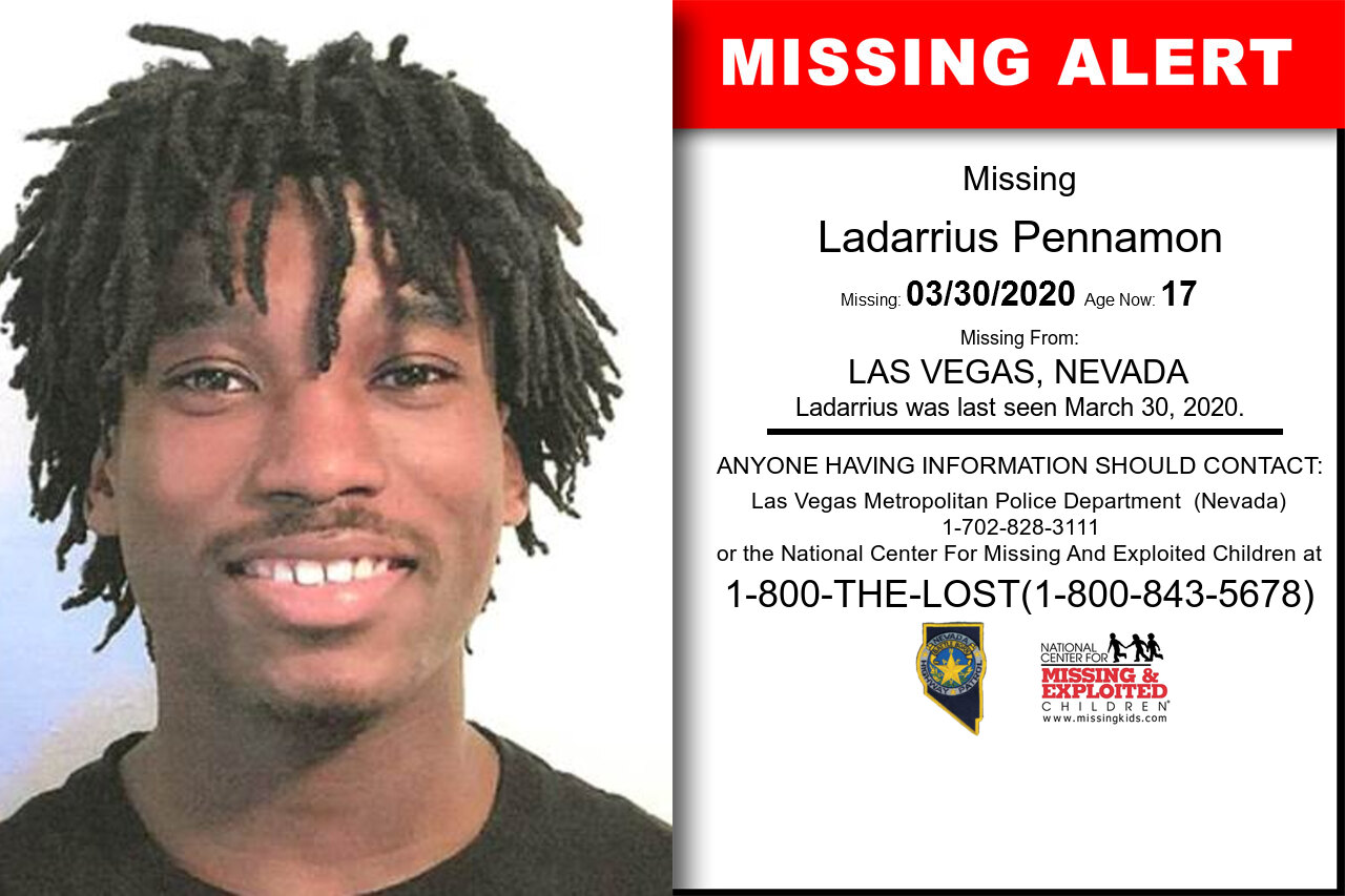 Ladarrius_Pennamon missing in Nevada