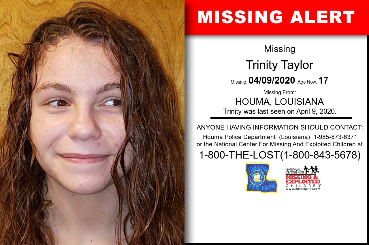 Trinity_Taylor missing in Louisiana