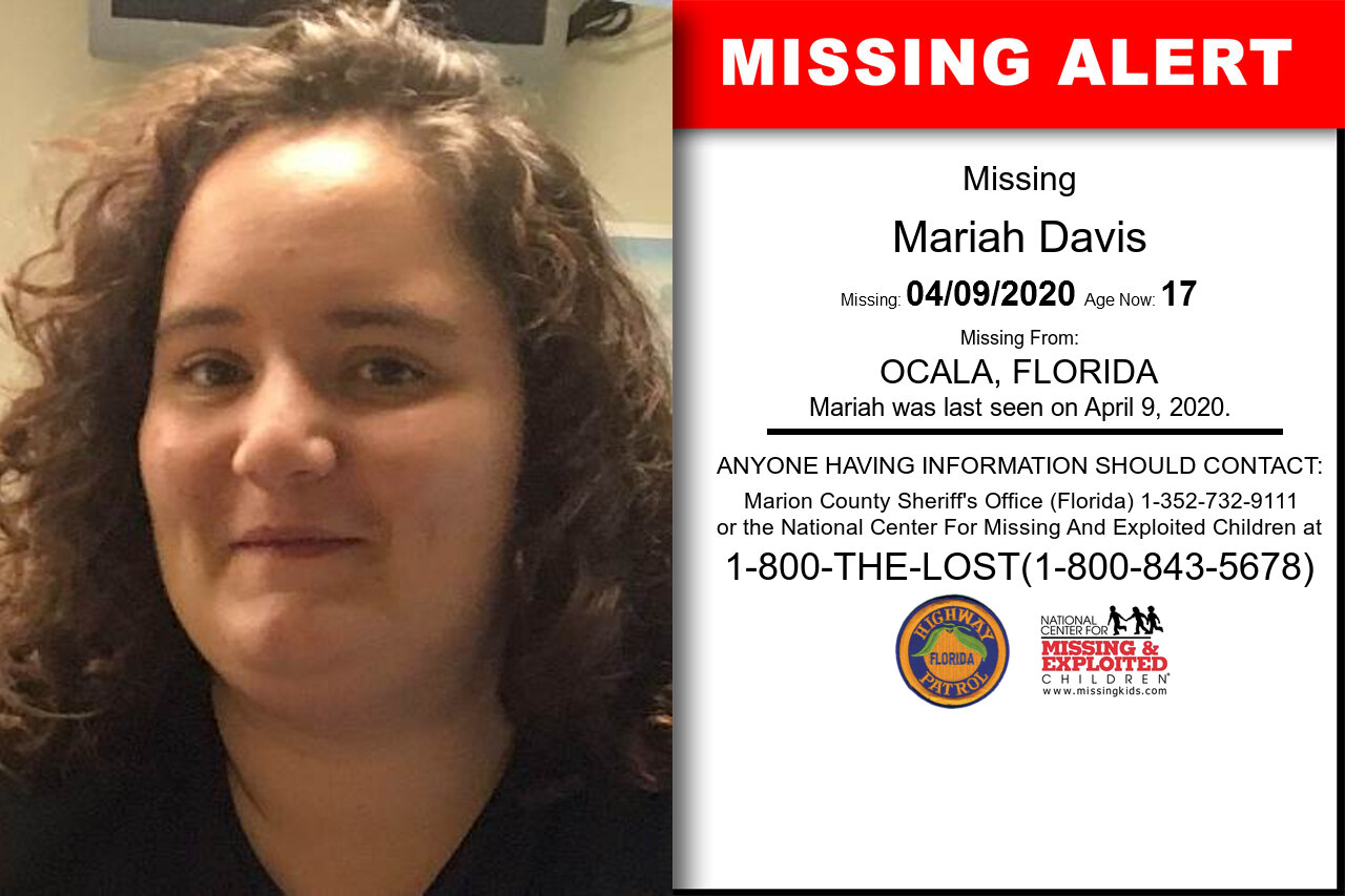 Mariah_Davis missing in Florida