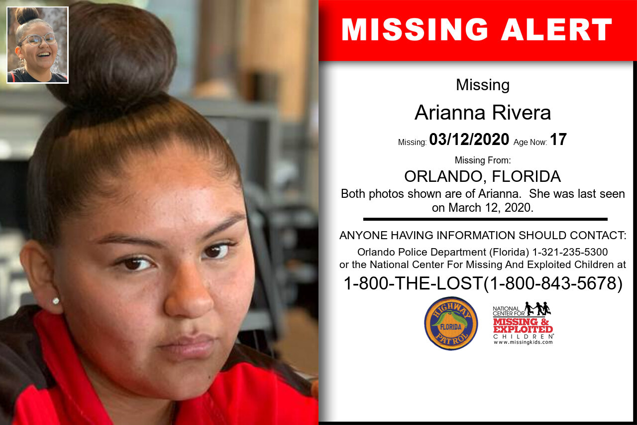 Arianna_Rivera missing in Florida