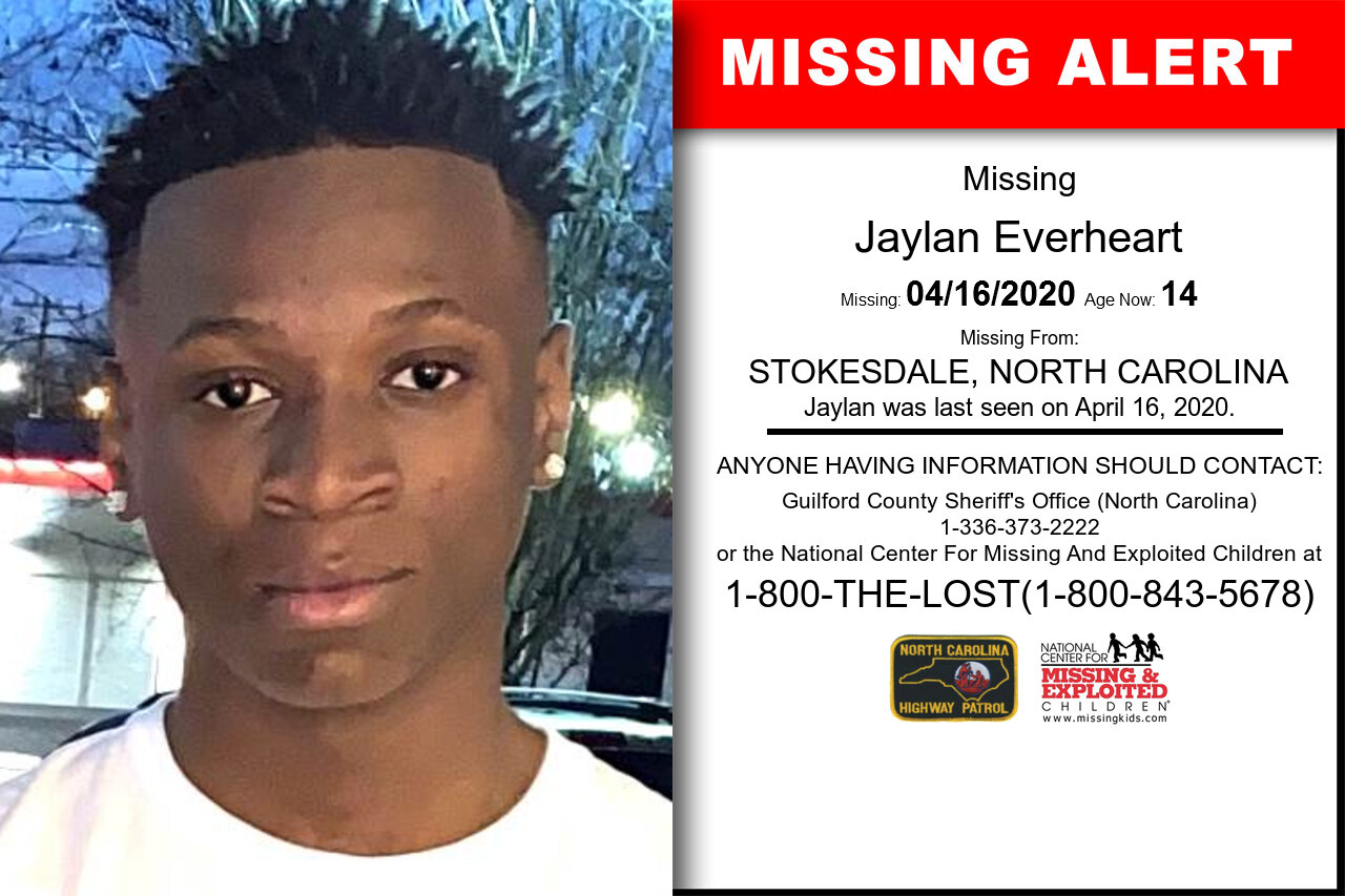 Jaylan_Everheart missing in North_Carolina
