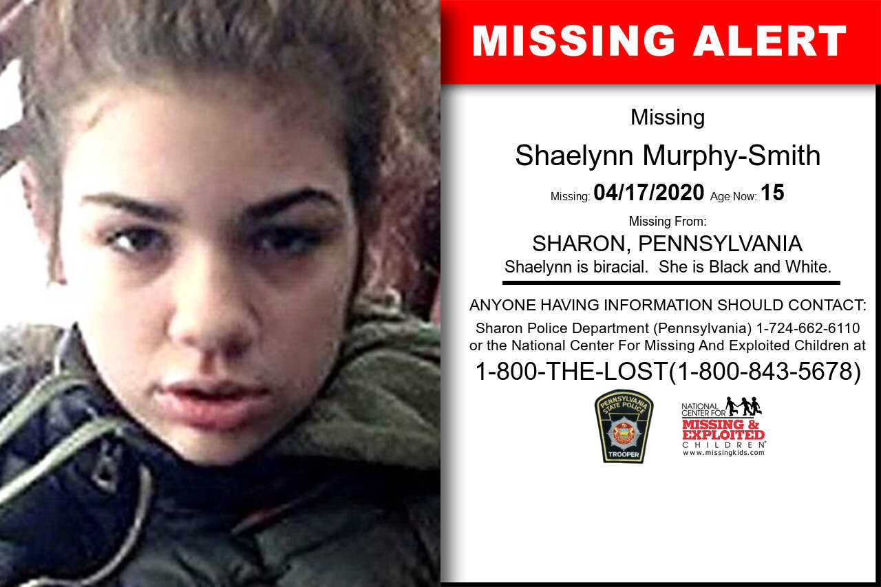 Shaelynn_Murphy-Smith missing in Pennsylvania